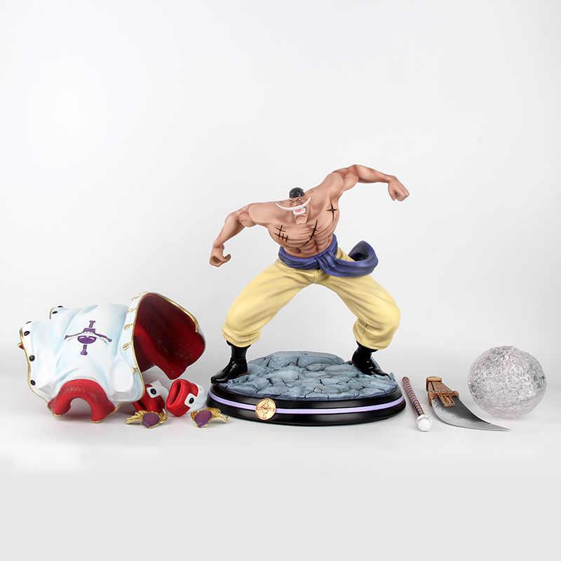 Chegada GK Figura Anime One Piece Ação POP Barba Branca Edward Newgate Estátua Batalha sobre a cúpula Reformulação 32 cm PVC Modelo Brinquedos