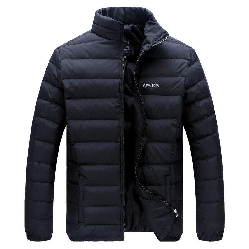 100% Kwaliteit Winter Mannen Parka Casual Katoen Gevoerde Kleding Mannen Jas Man Bovenkleding Warmte Houden Warme Jassen Lichtgewicht Packable Jas Tops