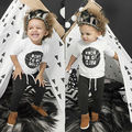 Baby Boy Kids Long Sleeve Clothing Casual T-shirt Blouse Tops Pants Lovely Outfit Set