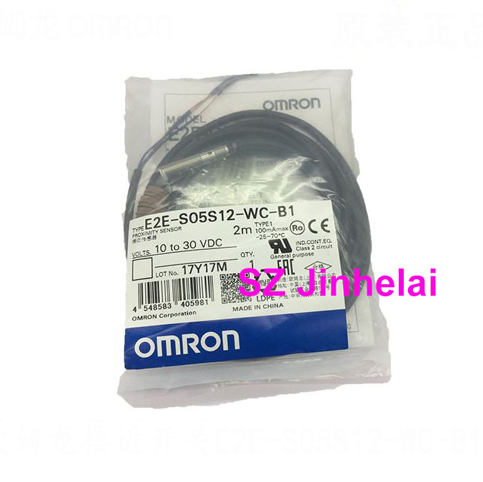 E2E-S05S12-WC-B1 Authentic original OMRON Proximity switch, Proximity sensor  2M E2E-S05S12-WC-B1 Authentic original OMRON Proximity switch, Proximity sensor  2M