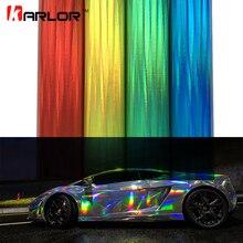 30*100 см Виниловая голографическая автомобильная пленка с лазерным покрытием, радужная автомобильная пленка для украшения кузова, хромированная наклейка, лист, наклейка для автомобиля