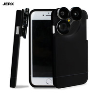 4 In 1 Phone Case Camera Lens Kit Multifunction Fish Eye Macro Wide Angle Telephoto