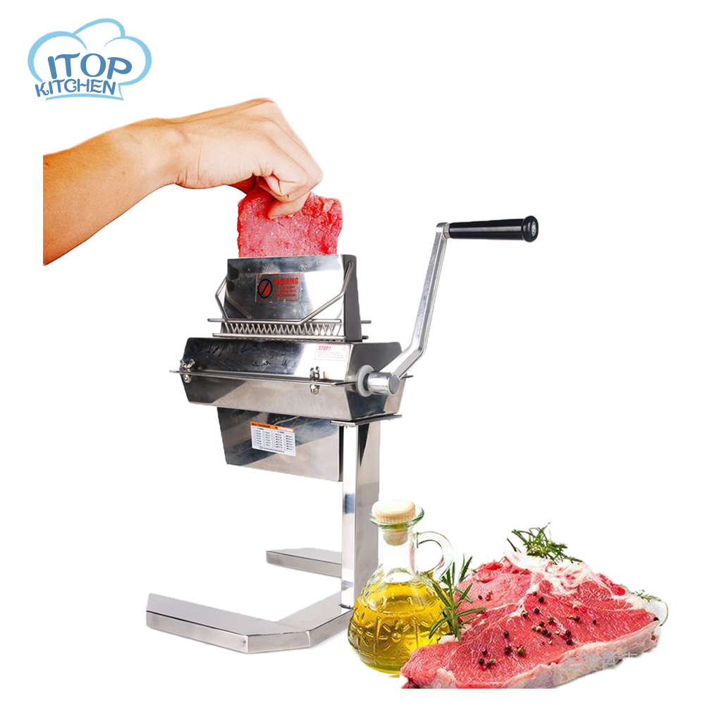 ITOP Commercial Meat Tenderizer Cuber Heavy Duty Steak Flatten Hobart Kitchen Tool 5'' Wide