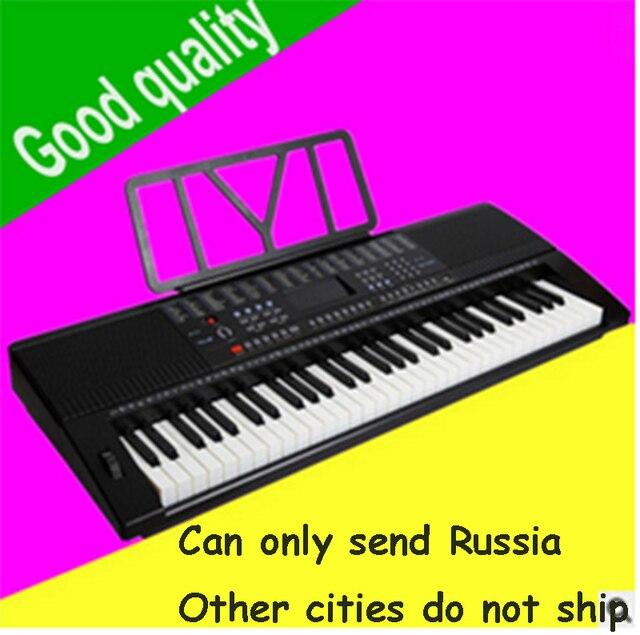 fd1cb783306 Adulto teclado chave Yongmei 9200 crianças entrada iniciante de piano  teclado 61 teclas padrão do teclado