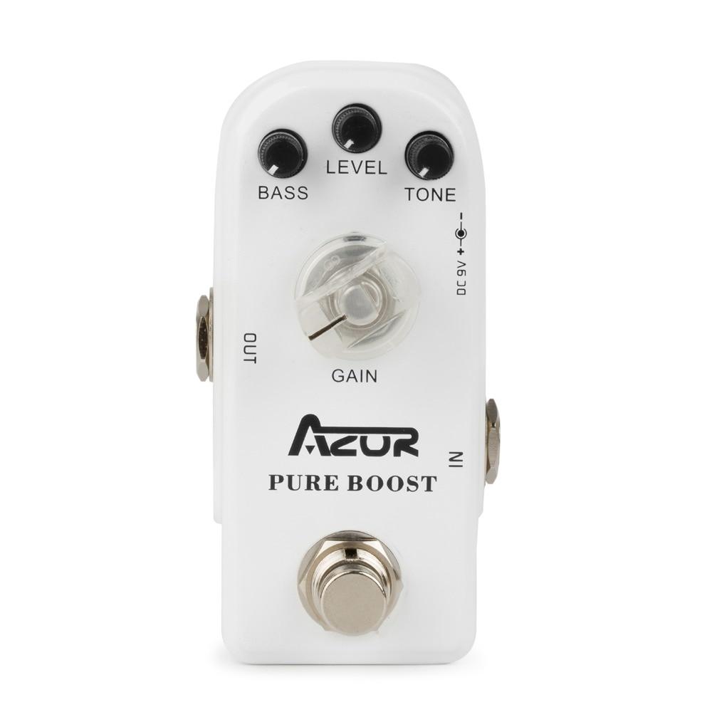 AP-304 Pure Boost Mini Guitar Effect Pedal with Ture Bypass aroma adr 3 dumbler amp simulator guitar effect pedal mini single pedals with true bypass aluminium alloy guitar accessories