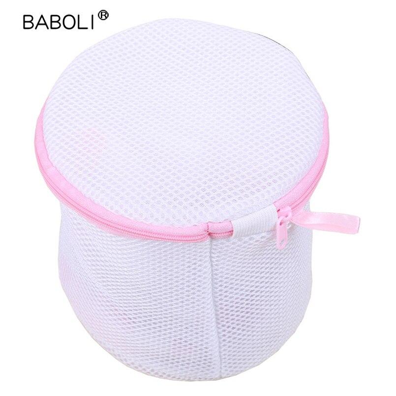 Bra Underwear Durable Nylon With Zipper Washing Protective Laundry Bag