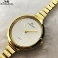 Marca de luxo Senhora Relógios De Ouro Das Mulheres relógios de Pulso de Aço Inoxidável Completa Magia Mulheres Pulseira Relógio Relógio de Senhoras do Relógio de Pulso Feminino