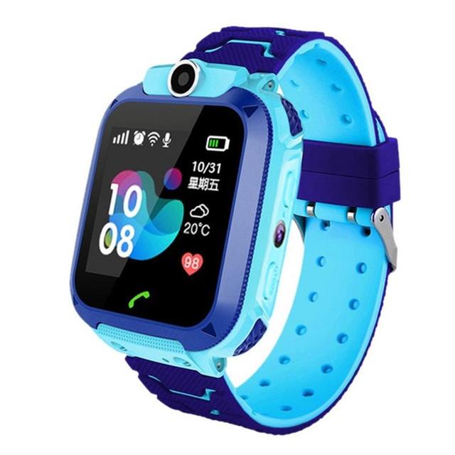 Waterproof Kids Smart Watch SOS Antil-lost Smartwatch Baby 2G SIM Card Clock Call Location Tracker Smartwatch PK Q50 Q90 620