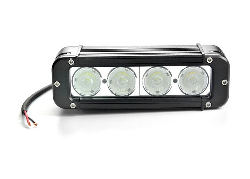 Emergency lights 40W 8inch LED bar work light 2800lm CREE chip LED car light For SUV Truck Auto Motorcycle