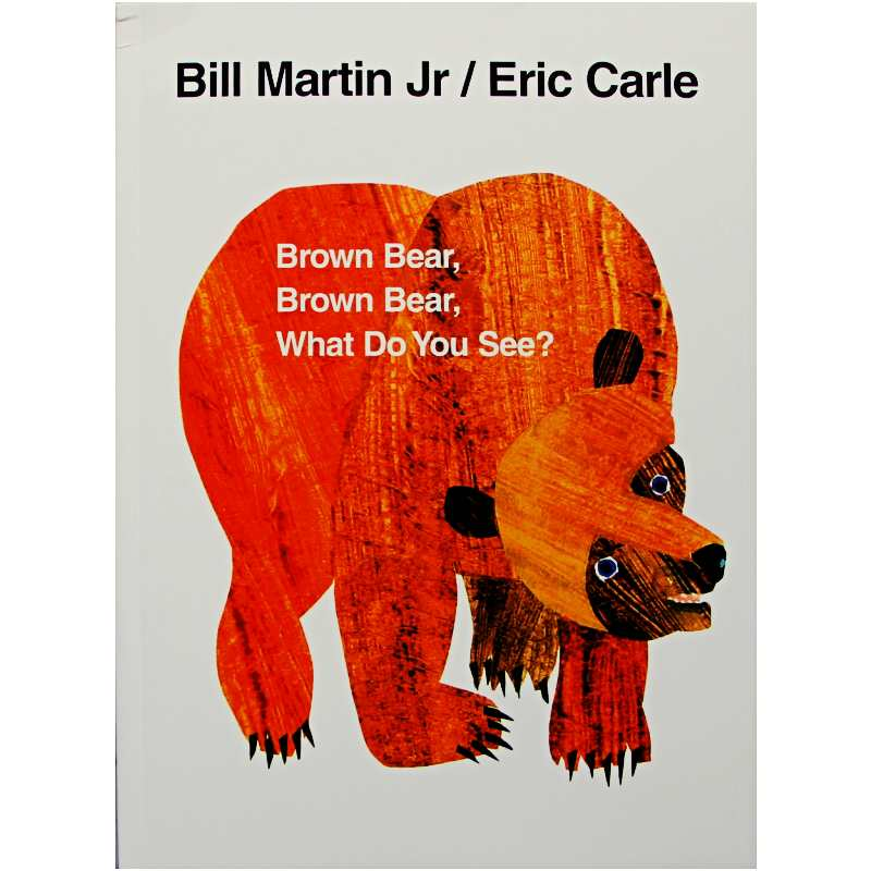 Brown Bear What Do You See By Bill Martin Jr. Educational English Picture Book Learning Card Story Book For Baby Kids Children