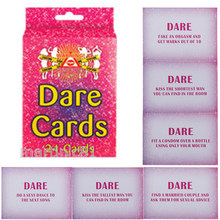 New Hot Wholesale Dare Cards Hen Do Party Favours Hens Girls Night Out Accessory Pack of 24 Wedding Party Supplies Funny Game(China)