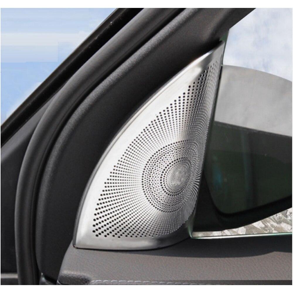 Aleación de aluminio de la puerta del cromo cubierta del altavoz - Accesorios de interior de coche - foto 1