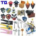 TQ Войны Пират Принцесса Военного Оружия Рыцарь Крупные Частицы Строительные Блоки Детские Игрушки Brinquedo Совместимость с Legoe Duplo