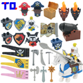 TQ Pirate Princess Guerra Militar Arma Caballero de Partículas Grandes Bloques de Construcción de Juguetes Del Bebé Brinquedo Compatibles con Duplo Legoe