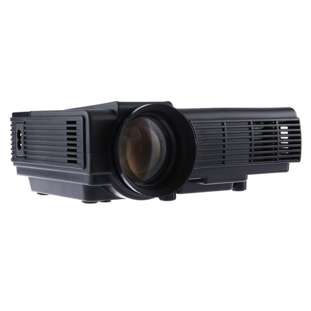 Original POWERFUL Q5 40W Portable Home Theater 1000 Lumens 480 *320 Pixels PK UNIC UC46 GM60 YG300 Multimedia HD LCD Projector