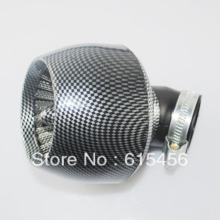 Performance Carbon 35MM Air Filter For 110CC And 125CC Horizontal Engine Dirt Bike And ATV,Free Shipping