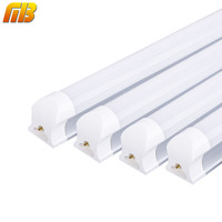 4pcs LED T8 Tube Bar Lamp 2ft 60cm 10W 220V 230V MING BEN Lighting Cold White