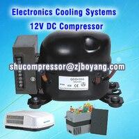 Mini Car Refrigerator Dc12v 24v Compressor For 60L 12V DC Portable Car Freezer