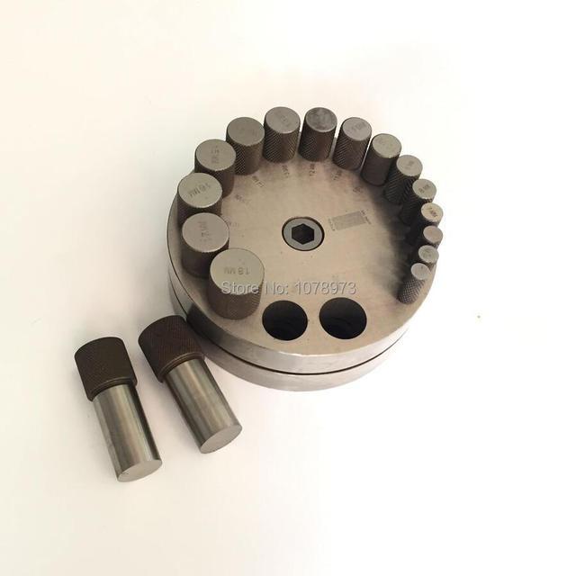 ab800680c4ba € 204.22 6% de DESCUENTO|Herramienta de corte de Metal de joyería de alta  calidad juego de corte de disco con unids 17 piezas de punzones en ...