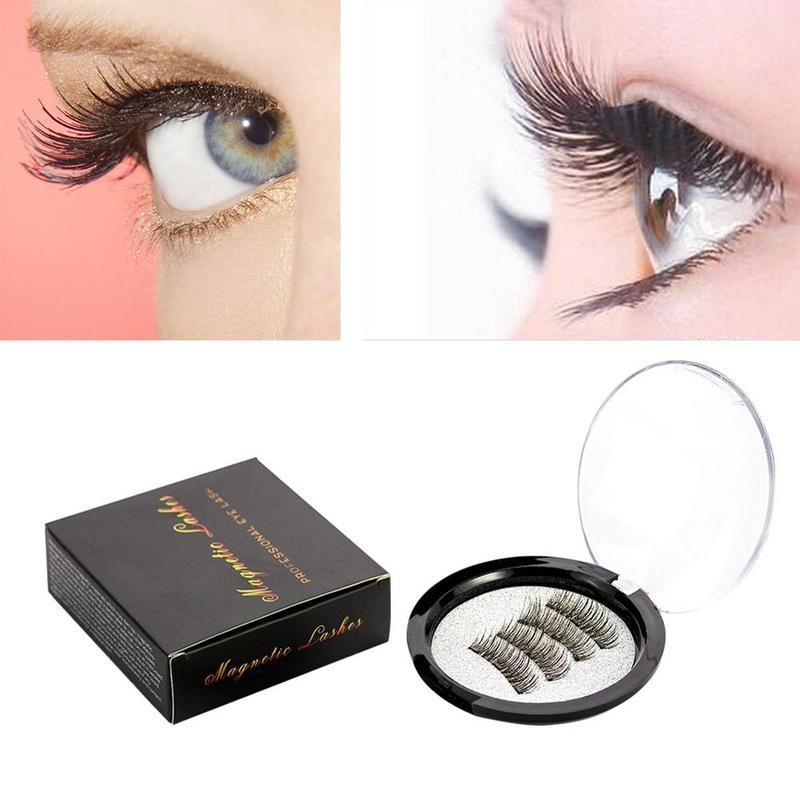Magnetic magnet eyelashes