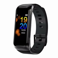 2019 Fashion B02 Smart Bracelet With Blood Pressure Heart Rate Monitor Sports Activity Fitness Tracker Smartband for Men Women