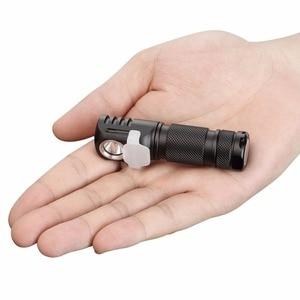 Image 2 - Налобный фонарь Manker E03H AA, светодиодный фонарь с реверсивным зажимом, CREE XP L / Nichia 219C, 350 лм
