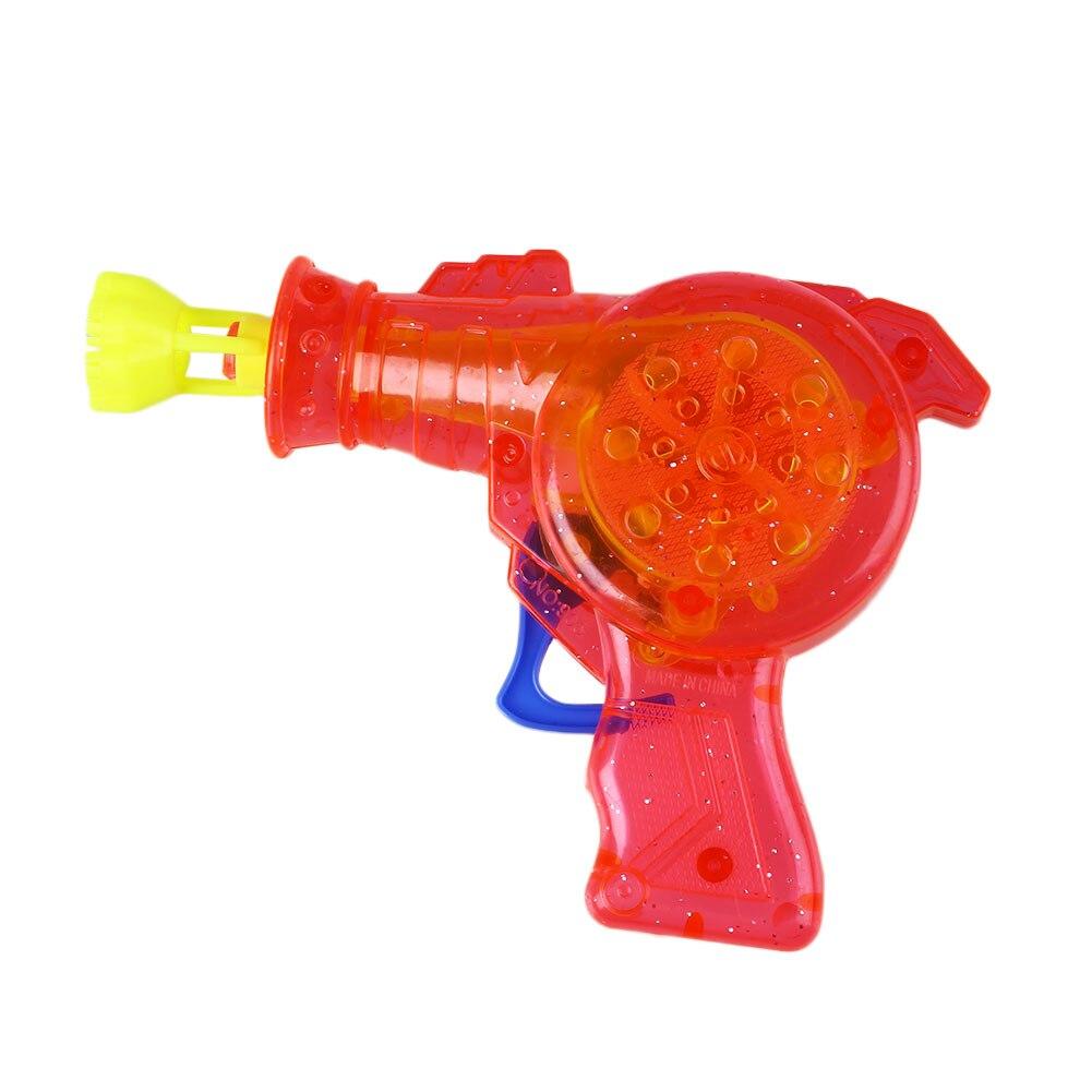 Блестящий пистолет для мыльных пузырей шутер устройство для выдувания мыльных пузырей водяные дующие игрушки открытый родитель-ребенок интерактивные детские игрушки цвет случайный