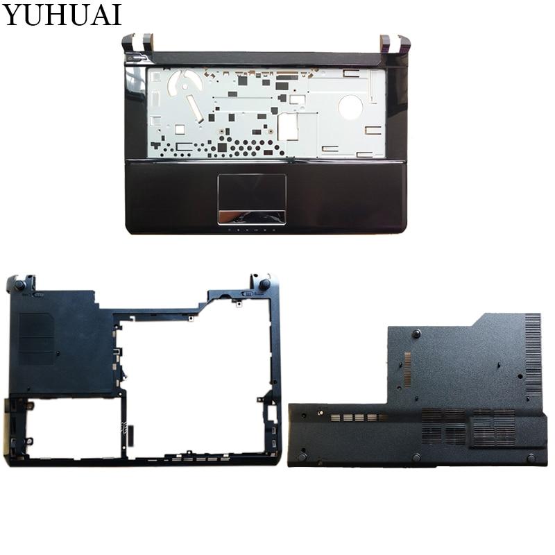 купить NEW laptop case cover FOR MSI GE40 MS-1491 Palmrest COVER /Bottom case/Bottom RAM HDD Hard Drive Cover Door по цене 3770.32 рублей