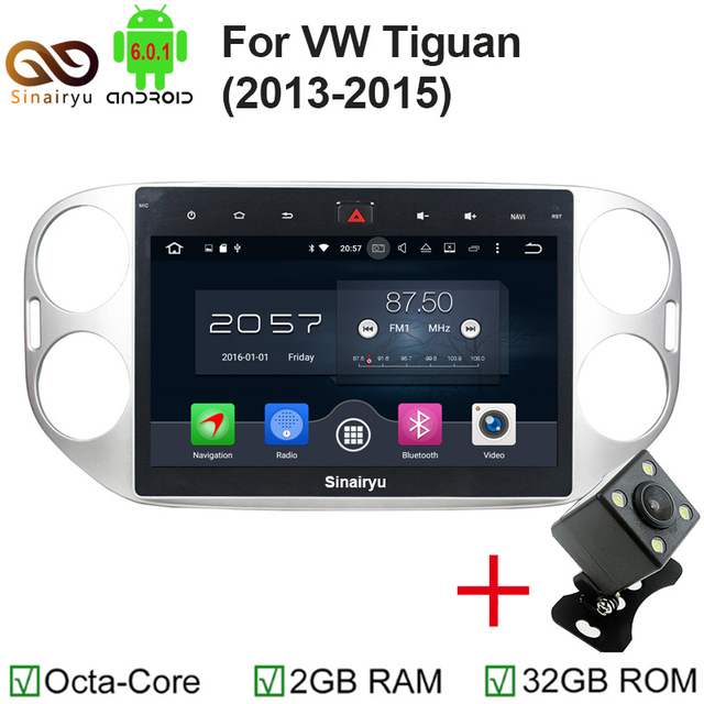 octa base 10 1 android 6 0 voiture dvd gps pour vw volkswagen tiguan 2013 2014 2015 2016 avec 2. Black Bedroom Furniture Sets. Home Design Ideas