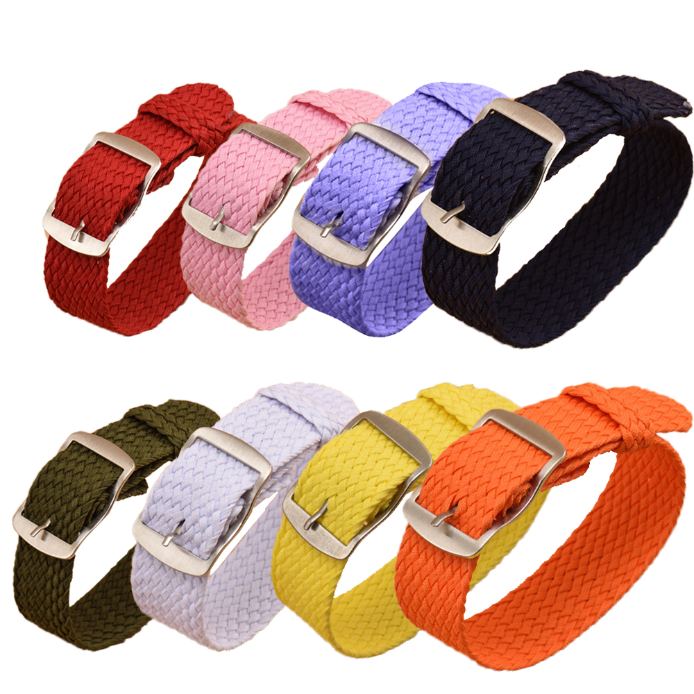 Intelligente Elektronik Ausdauernd Xberstar 23 Cm 20mm Mann Frau Beiläufige Uhr Band Nylon Perlon Strap Universal Sport Weben Straps Armband Armband