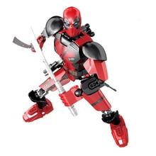 Legoings Spiderman Thanos Super Heroes Thor Iron Man Deadpool Hulk Venom Spider Batman Avengers Building Blocks Toys Figure