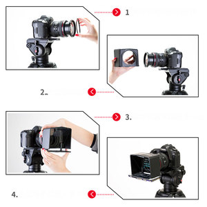 Image 5 - Bestview T1 Smartphone Teleprompter for Youtube Interview Video Prompter Monitor for Canon Nikon Sony DSLR Camera Photo Studio