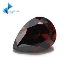 Размеры 2x3 ~ 10x12 родолит Цвет груша Форма 5a cz камень искусственные