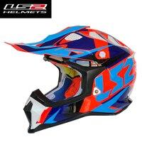 LS2 MX470 original Motocross Helmet for Motorcycle Dirt Bike MTB Mountain Bike DH MX high quality Off Road Helmets