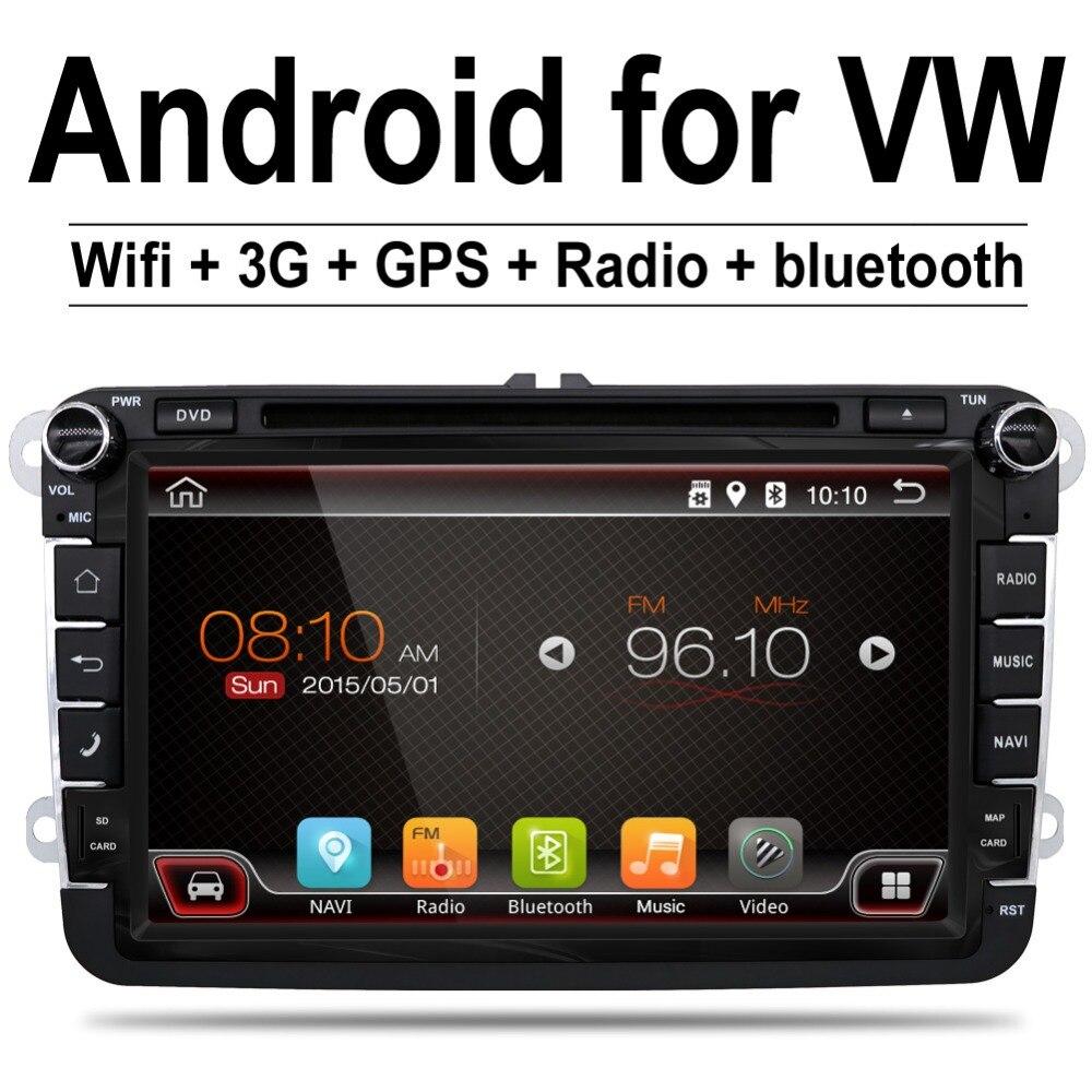 android 4 4 car stereo radio for vw passat b6 golf 5 quad. Black Bedroom Furniture Sets. Home Design Ideas