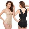 3 colors S to 3XL Women seamless bodyshaper Lace bodysuit corset Postpartum tummy slimming shaper waist cincher underwear