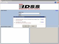 For Isuzu G-IDSS J2534 Euro5, Euro5+, Euro6 - Isuzu Diagnostic Service System 2017