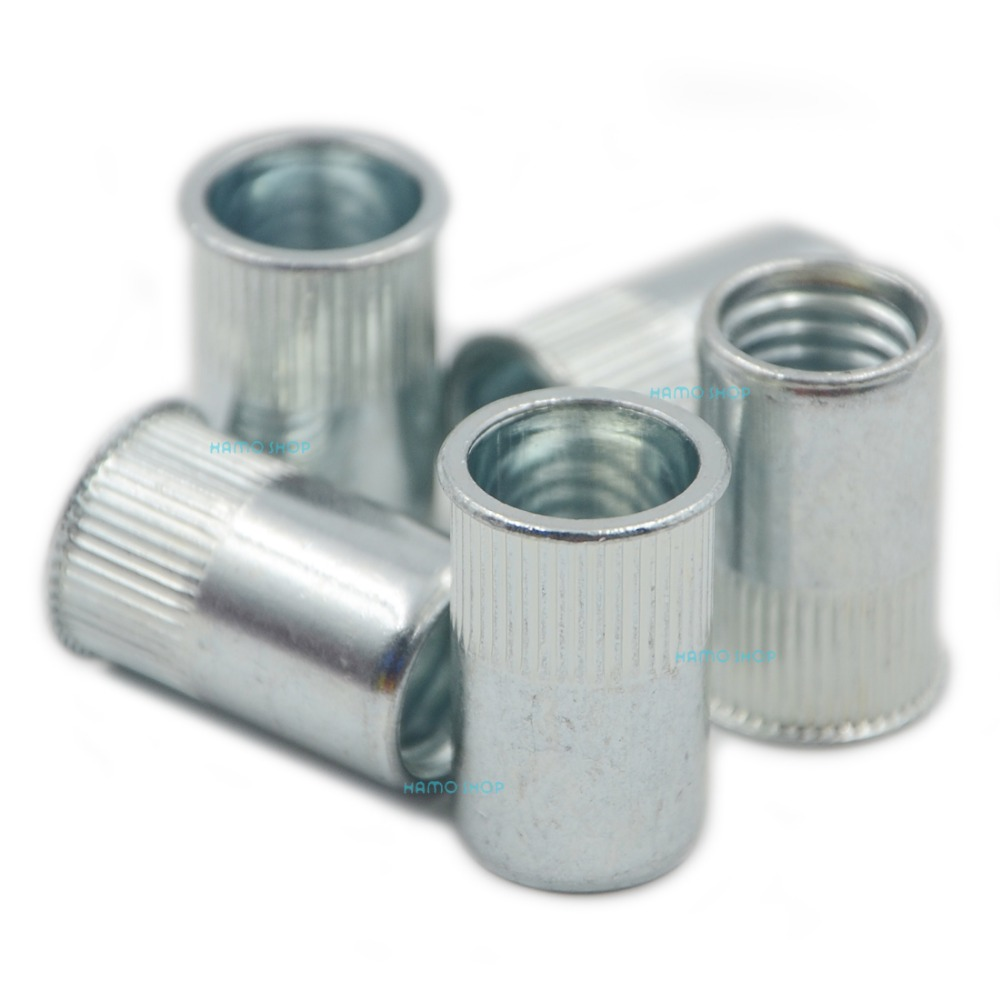 15pcs M12 Rivet Nut Normal Head Nutserts Blind Insert Rivnut Steel Threaded Multi proxy blind multi signature scheme