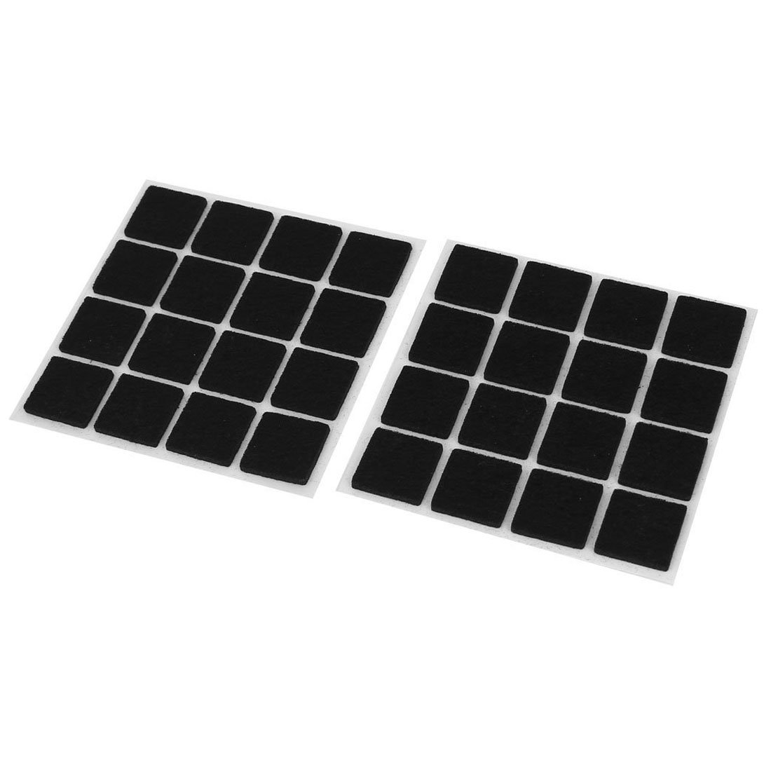 PHFU Self Adhesive Floor Protectors Furniture Felt Square Pads 32pcsPHFU Self Adhesive Floor Protectors Furniture Felt Square Pads 32pcs