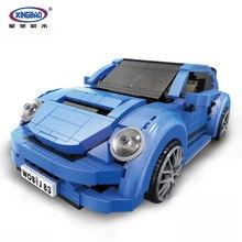 XingBao 03015 944Pcs Genuine Creative MOC Technic Series The Red Phantom Racing Car Set Building Blocks Bricks Toys XB-03015