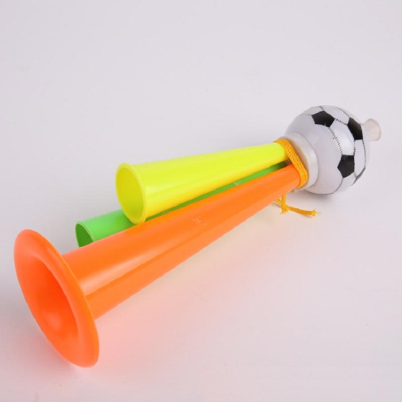 Football Fans Cheer Horn World Cup Speakers Sport Fans Horns Football Horn Cheerleading Loudspeaker For L Size 22cm