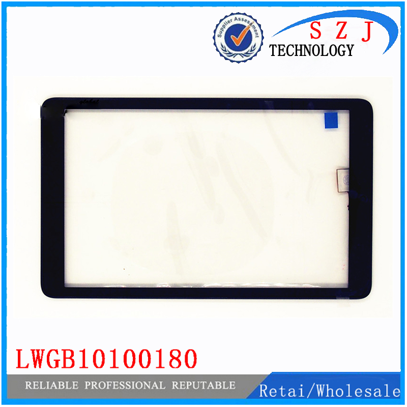 New 10.1 inch LWGB10100180 REV-A2 for Tablet Alcatel Pixi 3 with Frame Touch screen panel Digitizer Glass Sensor Free Shipping