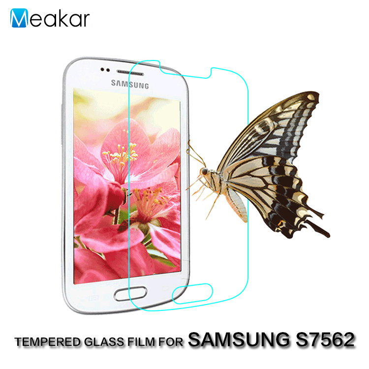 2.5D 9H 4.0for Samsung Galaxy Trend Plus S7580 Tempered Glass Film Screen Protector For Samsung Galaxy S Duos S7562 Phone