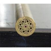 8mm Durchmesser DIY Messer Schaft Mosaiken Pin Nieten 9cm Länge Nagel Messing Rohr + stahl Rohr # P16-in Werkzeugteile aus Werkzeug bei