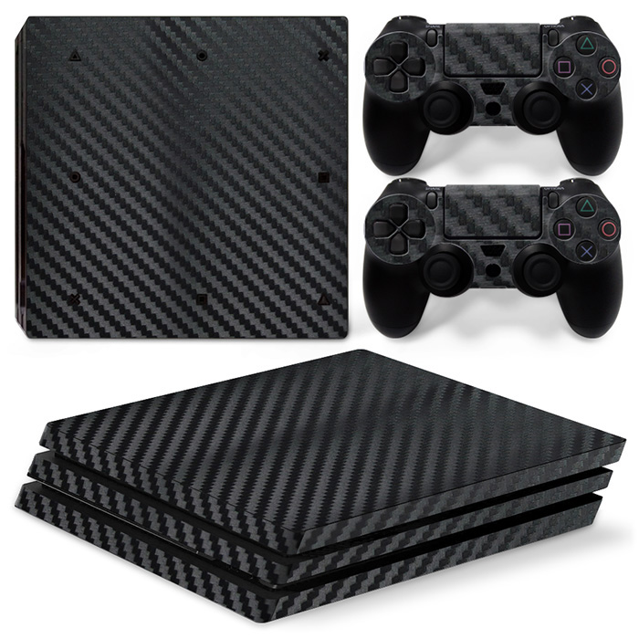 free drop shipping High Quality Game Console & Controller Vinyl Skin Stciker for PS4 Pro #TN-P4Procarcon-black