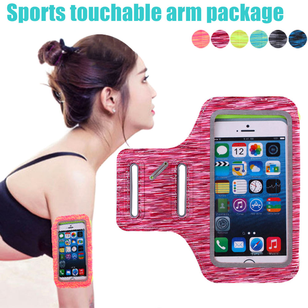 5.5 Inch Arm Bag Pack Armband Package Outdoor Running Cycling Portable Adjustable For Mobile Phone B2Cshop