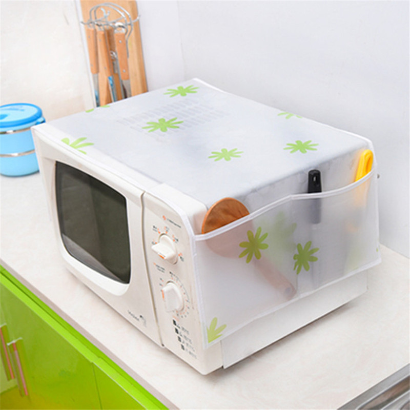 Microwave Oven Cover Kitchen Oil Dust Waterproof Double