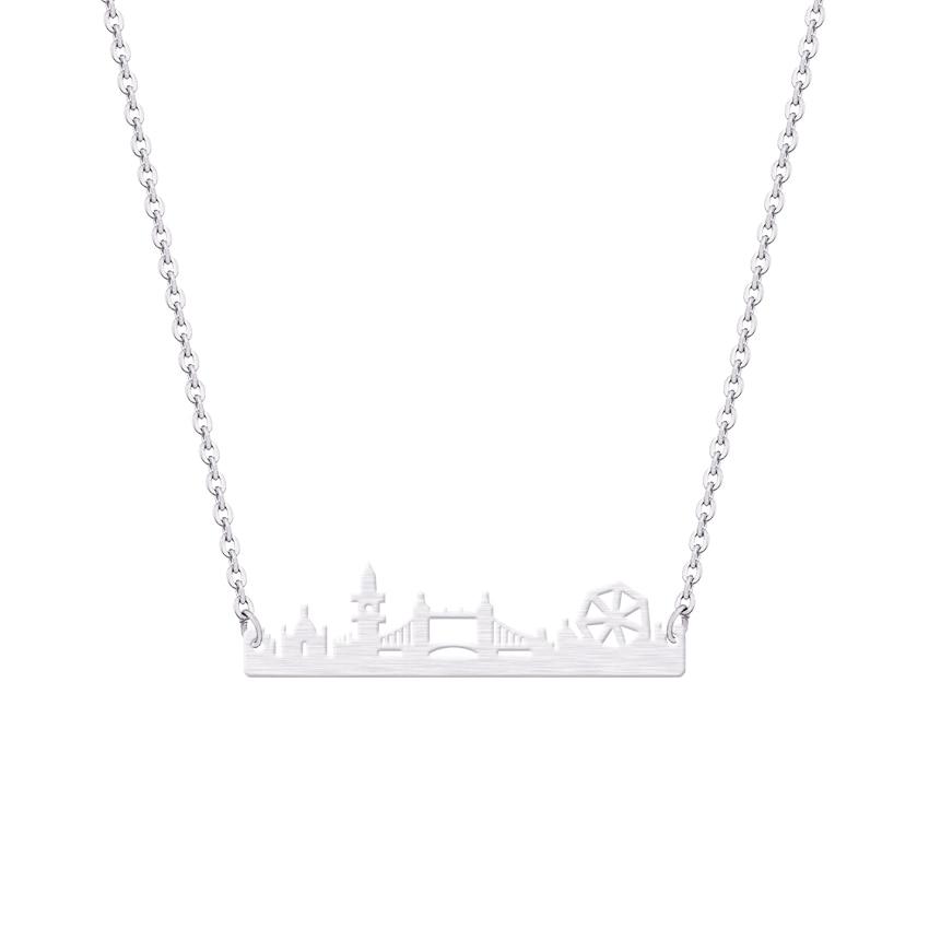Vintage Λονδίνο Skyline κολιέ κρεμαστό - Κοσμήματα μόδας - Φωτογραφία 4