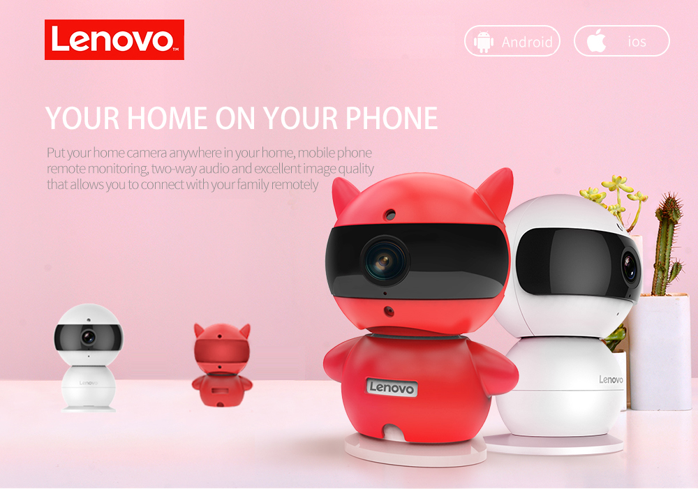 Details about LENOVO Snowman IP Camera WiFi Wireless Mini HD 720P Security  Camera Baby Monitor