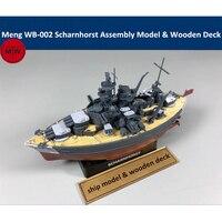 Meng WB 002 Warship Builder Scharnhorst Q Edition Plastic Assembly Model Kit Cute & Wooden Deck
